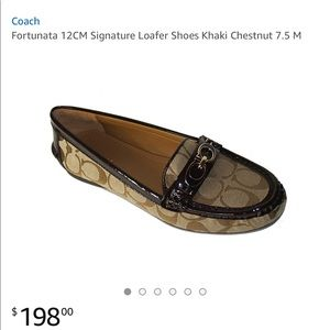 dae2b439598 Coach Shoes - COACH Fortunata Signature Loafers